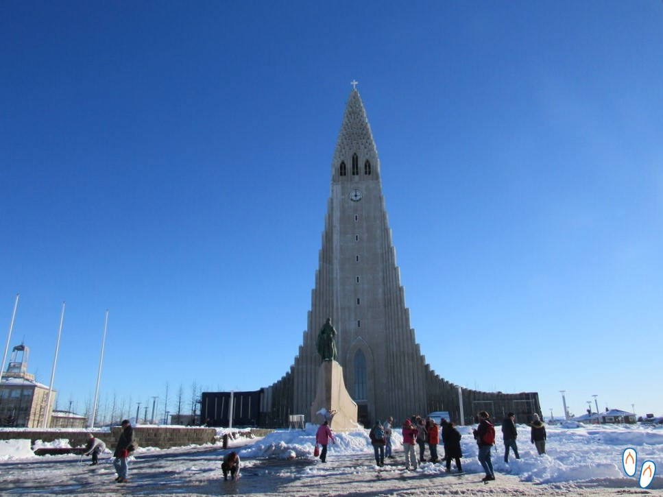 Hallgrímskirkja, igreja luterana de Reykjavik