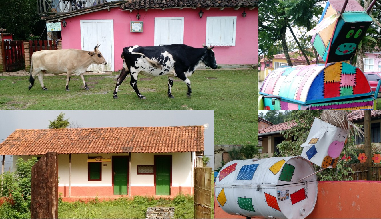SImpática cidade de Lavras Novas, em Minas Gerais