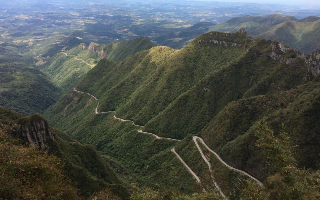 Curtindo o frio e a natureza na Serra do Rio do Rastro