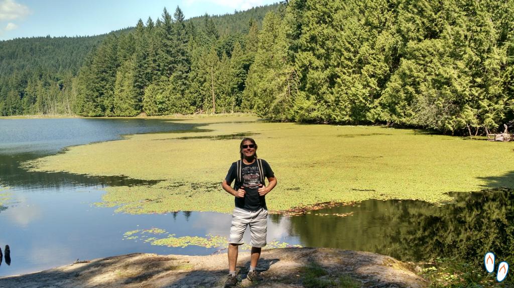 Killarney Lake, em Bowen Island, a oeste de Vancouver