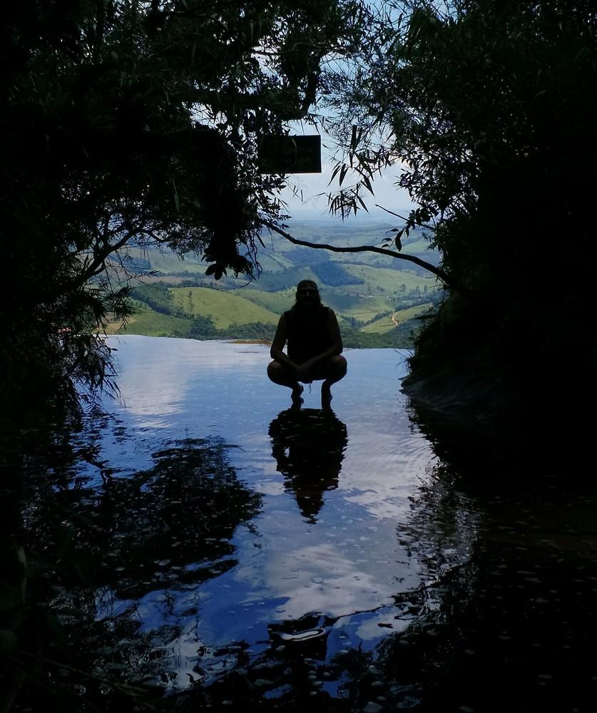 Janela do Céu, no Parque Estadual do Ibitipoca