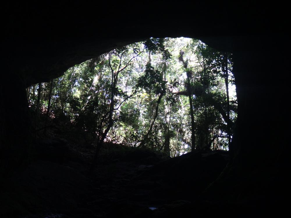 Gruta dos Moreiras, no Parque Estadual de Ibitipoca, Minas Gerais
