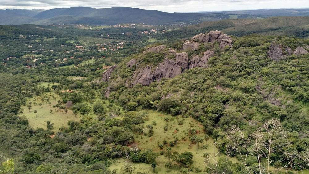 paisagens no caminho para Conceição do Mato Dentro, Minas Gerais