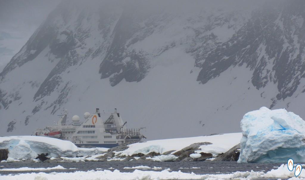 Montanhas na Antártida