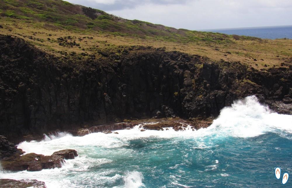 Encosta do mar de fora, trilha Atalaia- Pontinha-Caieiras