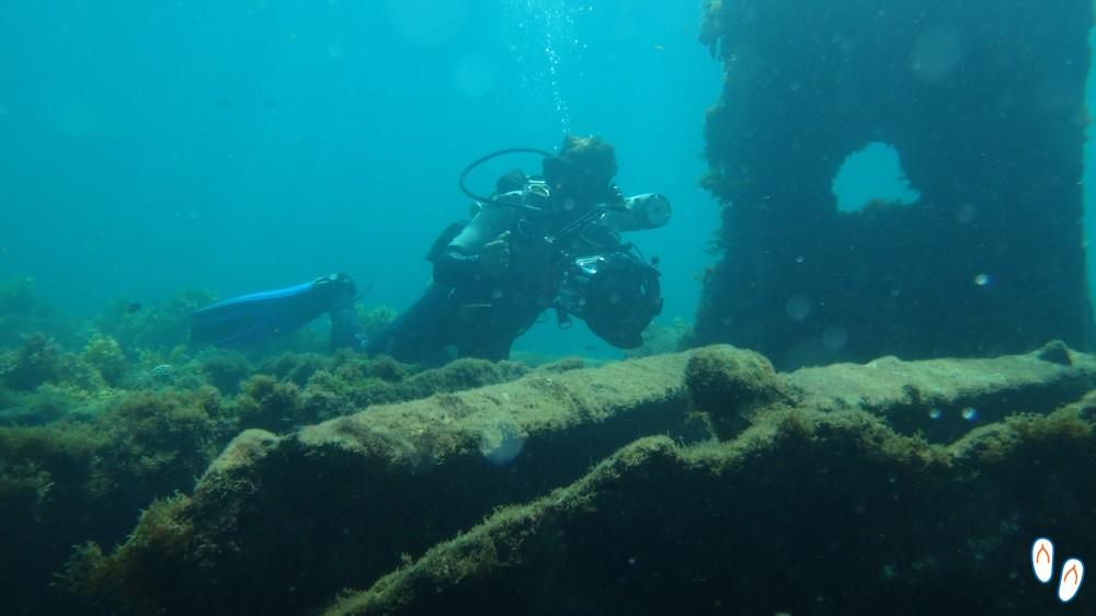 Mergulho naufrágio