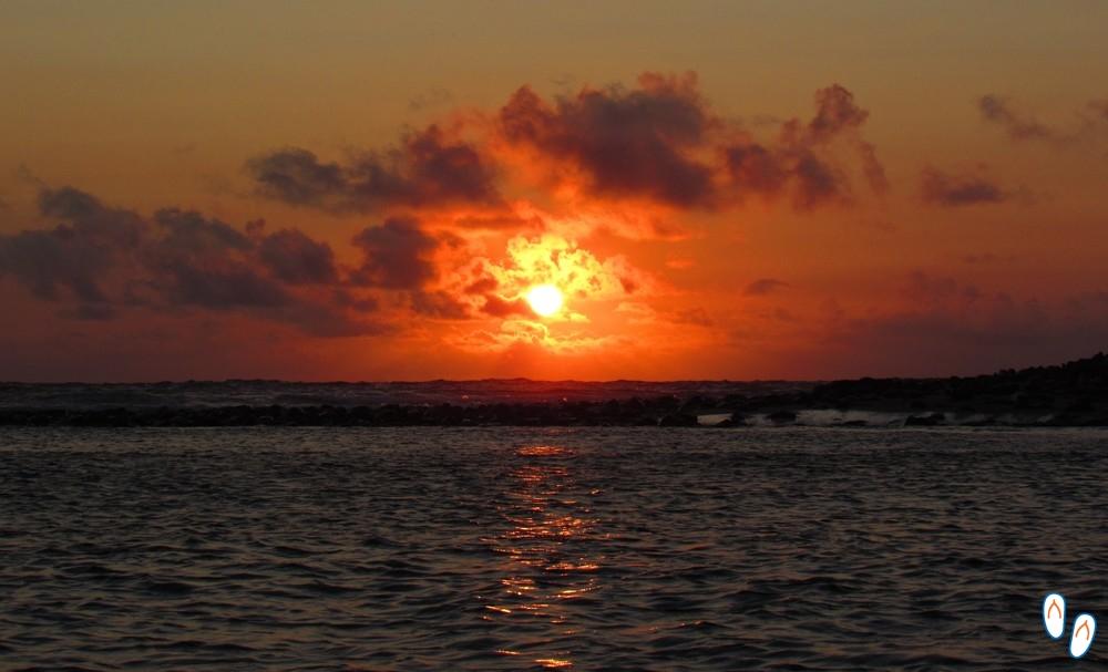 Nascer do sol em Fernando de Noronha