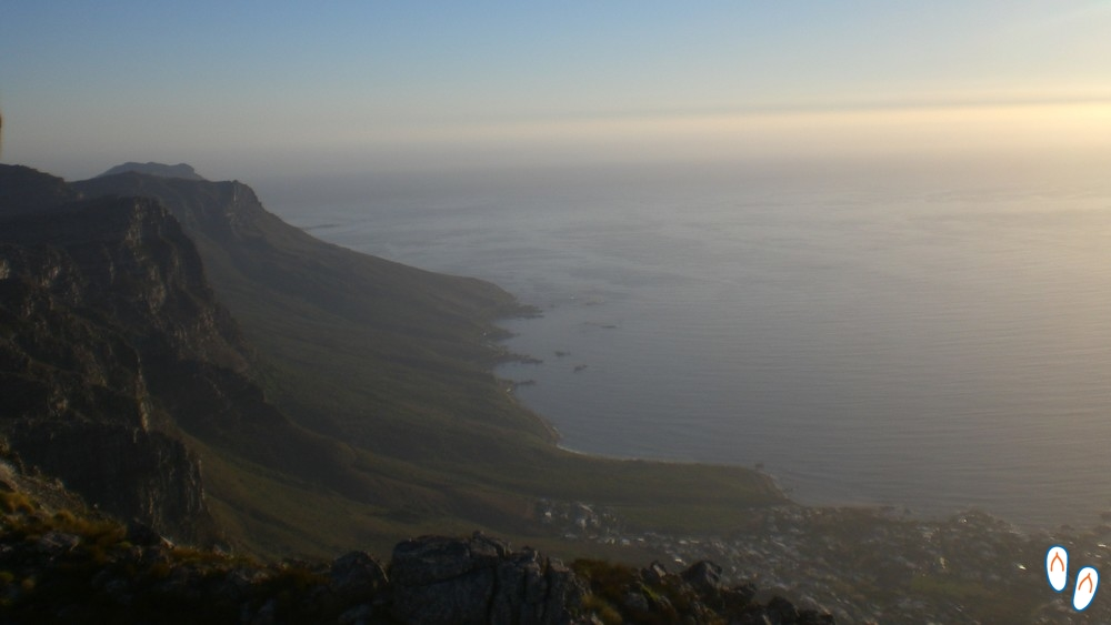 Topografia Península do Cabo