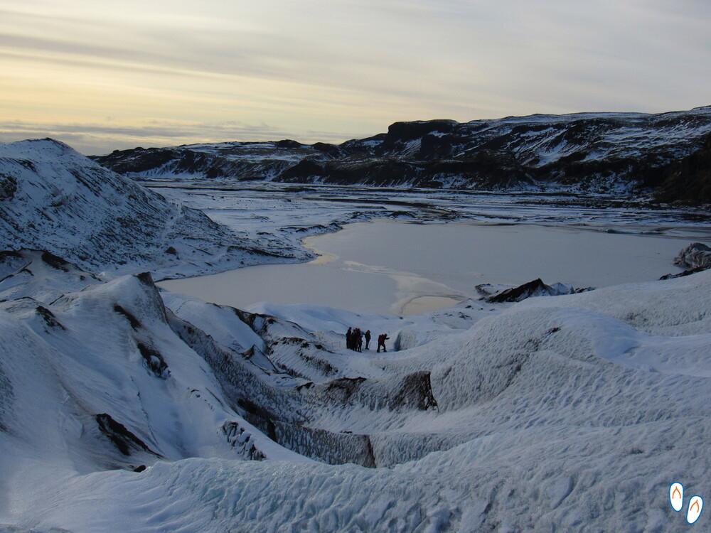 Glacier Walk em Solheimajokull