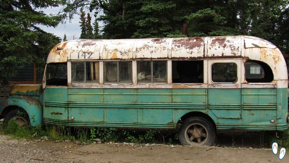 Ônibus do filme Into the Wild, Alasca