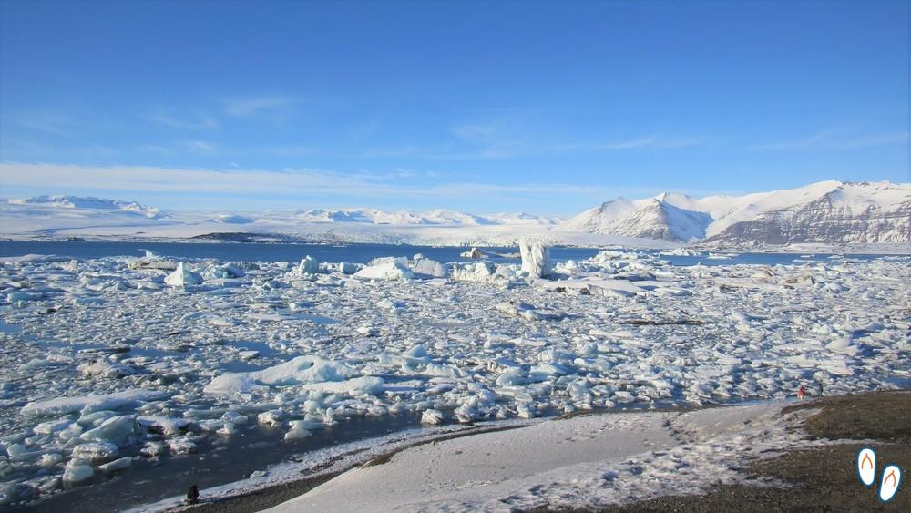 Lagoa de icebergs, Islândia